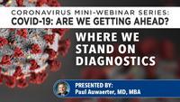 Where do we stand on diagnostics